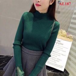 Áo len Quảng châu phối lưới