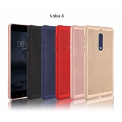 Ốp Lưng Cho Nokia 8 Dạng Lưới Tản Nhiệt Cao Cấp
