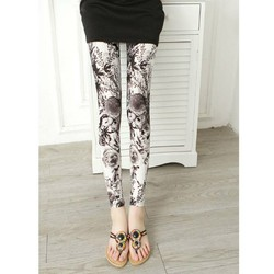quần legging nữ họa tiết Mã: QB591