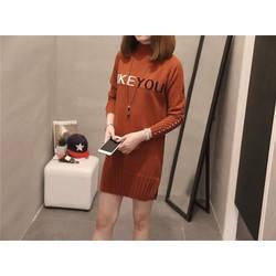 Đầm len