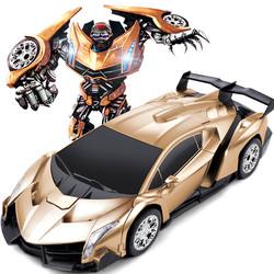 Ô tô đồ chơi biến hình Tranfomer Robot biến hình - ô tô điều khiển