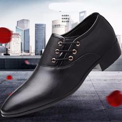 Giày tây nam dây chéo phong cách thời thượng 628