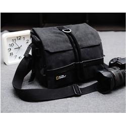 Túi máy ảnh NG 2140_màu đen xám
