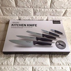 Bộ Dao Sứ Nhà Bếp Cao Cấp 6 Món LockLock Kitchen Knife