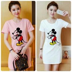 Đầm suông chuột mickey - 06655