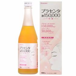 Fracora Placenta 150.000mg nước uống nhau thai cừu Nhật Bản