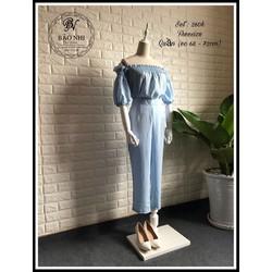 set áo bẹt vai+quần suông