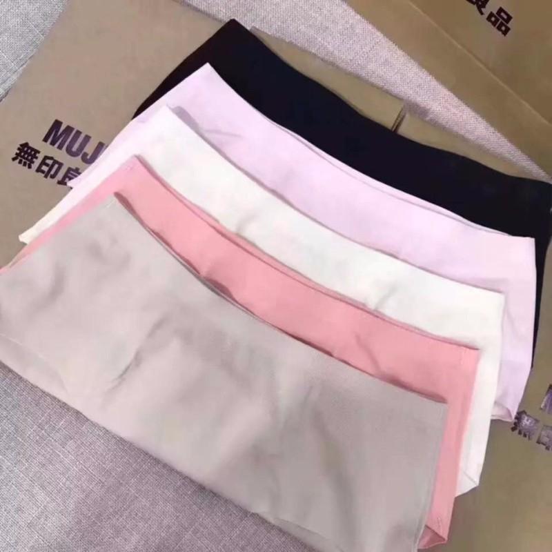 Sét 5 quần lót nữ không viền Muji xuất Nhật 5