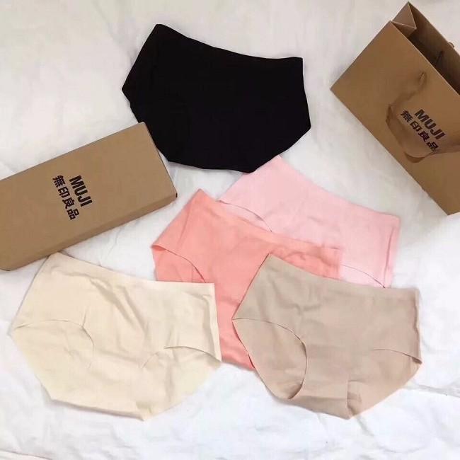 Sét 5 quần lót nữ không viền Muji xuất Nhật 4