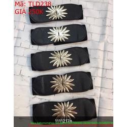 Thắt lưng nữ bản to hình chiếc lá mới sành điệu sang trọng TLD238