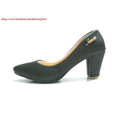 Giày búp bê cao gót công sở 7cm