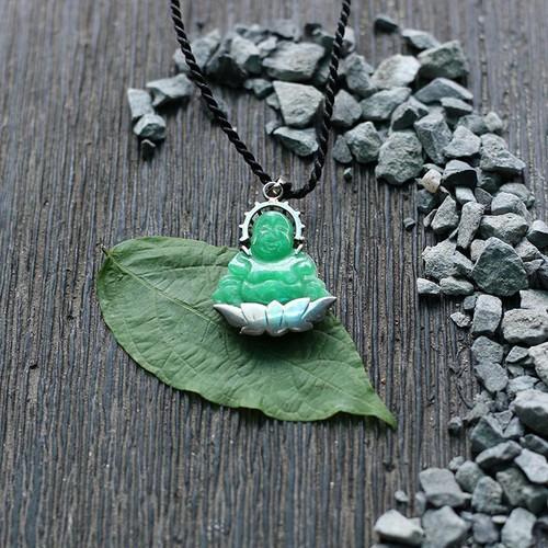 Mặt dây chuyền phật di lặc cẩm thạch bọc bạc - ngọc qúy gemstones - 18940281 , 8329569 , 15_8329569 , 639000 , Mat-day-chuyen-phat-di-lac-cam-thach-boc-bac-ngoc-quy-gemstones-15_8329569 , sendo.vn , Mặt dây chuyền phật di lặc cẩm thạch bọc bạc - ngọc qúy gemstones