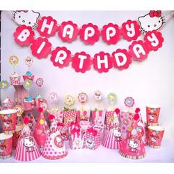 Set phụ kiện tổ chức sinh nhật