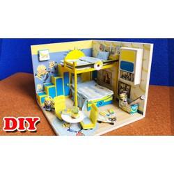 Mô hình nhà gỗ Minion