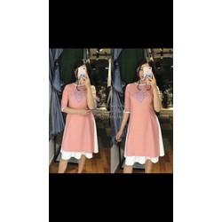 sét áo dài kèm váy t