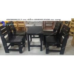 bàn ghế cafe cóc