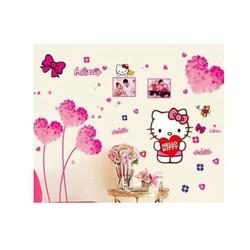 Combo trái tim hồng và Hello kitty PK338