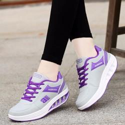 Giày sneaker nữ tăng chiều cao, chất liệu cao cấp 15