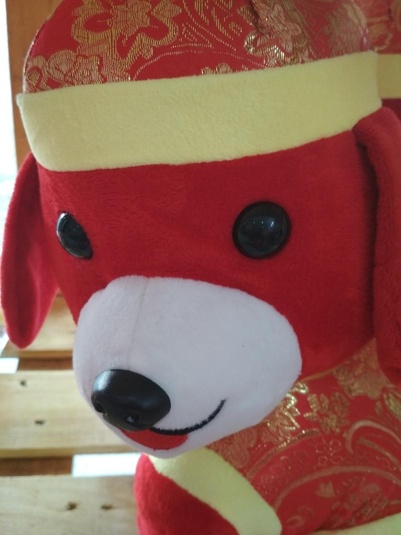 Gấu Bông Chó Tết 35 cm-Chó Phát Tài 2018 4