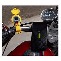Sạc điện thoại gắn trên xe máy xe đạp điện chịu nước