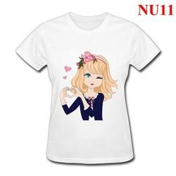 Áo thun nữ form rộng Beautiful Girl NU11 - Nhiều màu