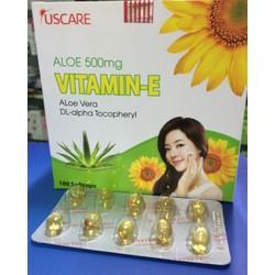 Vitamin e 4000mcg aloe vera 500mg 100 viên