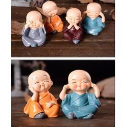 Bộ Tượng 4 Phật Tịnh Tâm