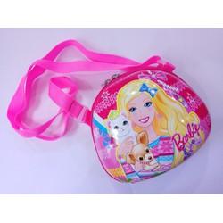 Túi đeo chéo hình Barbie xinh xắn cho bé