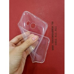 Thuyngoshop - Ốp silicon trong suốt H T C U11