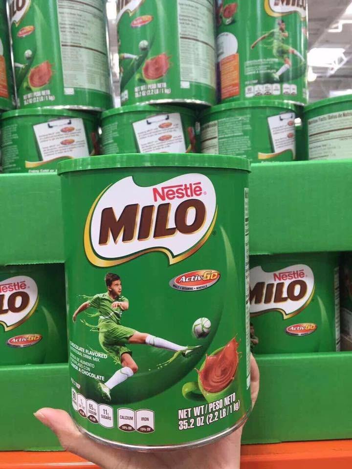 Sữa bột Milo Mỹ 13