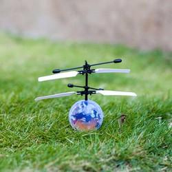 Quả cầu bay phát sáng cảm ứng vi diệu - Máy bay điều kiển