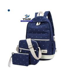 Bộ 3 ba lô thời trang phong cách Đồ Da Thành Long TLG 205966