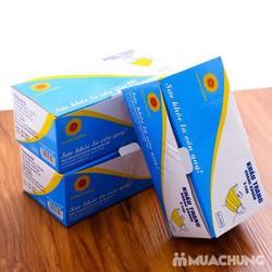 5 hộp khẩu trang hoạt tính màu xanh 3 lớp