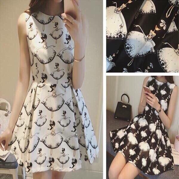 Đầm xoè cô gái xinh xắn - 30224 3