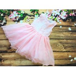 Đầm công chúa màu Hồng
