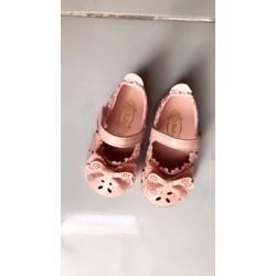 Giày nơ hồng tập đi xinh xắn cho bé gái