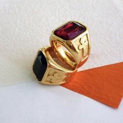 Nhẫn inox cao cấp khắc thánh giá độc đáo