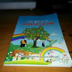 sách lập dàn ý và những bài văn mẫu dành cho học sinh tiểu học
