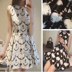 Đầm xoè cô gái xinh xắn - 30224
