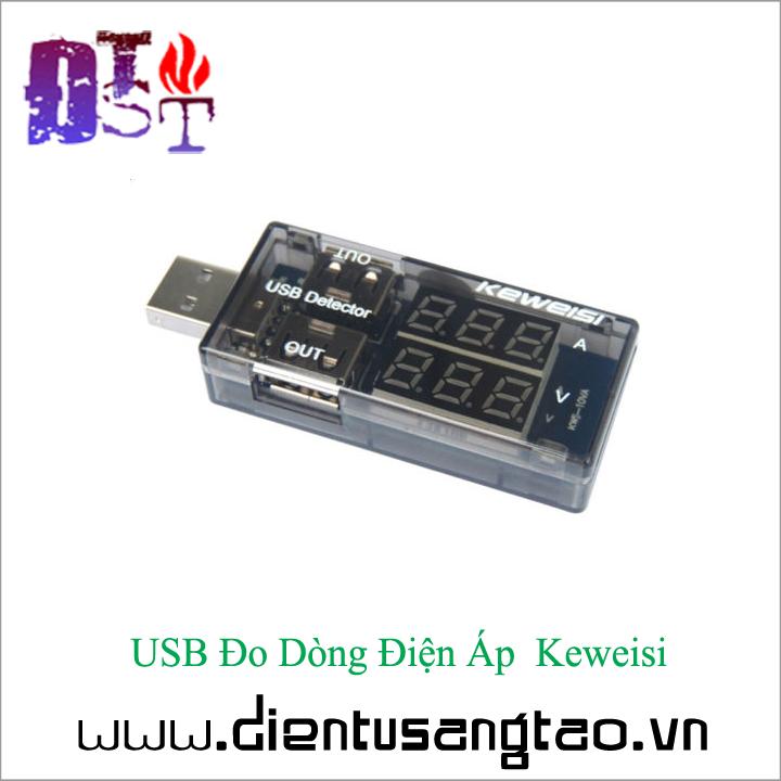 USB Đo Dòng Điện Áp  Keweisi 5