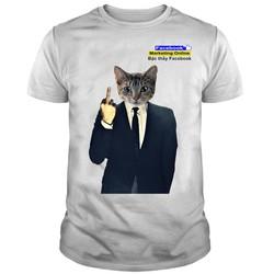Áo Thun Mèo Hacker Bậc Thầy Facebook Cao Cấp