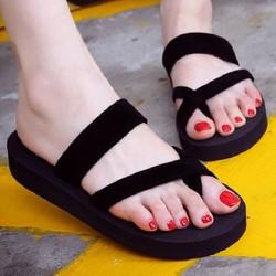 Dép xốp sandal quai kẹp nữ siêu nhẹ cực xinh