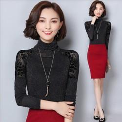 Áo ren ánh nhũ kiểu Hàn Quốc - giá 260k -MZ8106