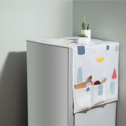 Tấm phủ tủ lạnh, máy giặt phong cách Nhật bản