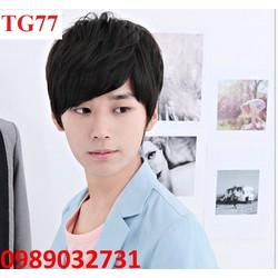 Tóc giả nam Hàn Quốc - TG77