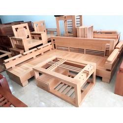 sofa gỗ tự nhiên xoan đào , sồi Bích , sồi Nga