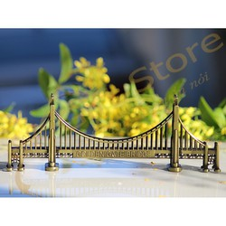 Mô hình trang trí chủ đề kỳ quan thế giới - Cầu Cổng Vàng