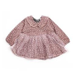 váy nỉ lót nhung chân ren cho bé từ 1 tuổi đến 4 tuổi