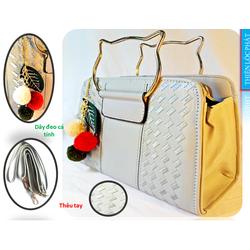 Túi xách tay nữ tay mèo thời trang hàng hiệu