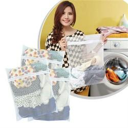 Combo 5 túi lưới giặt đồ bảo vệ quần áo